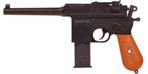 Plan Beta Pistolet Heavy Metal MRP 1896 Noir Spring 0.5J Adulte Unisexe