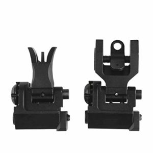 Ranstac Front & Rear Sight Viseurs en Fer À l'avant Et À L'arrière Flip Up Iron Sight CJ/JXM-01 (#2)