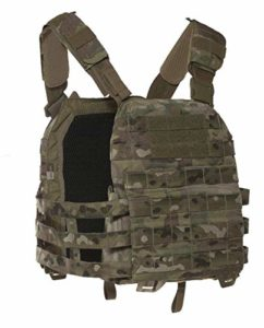 Tasmanian Tiger TT Plate Carrier Mkiv MC Unisexe, Mixte – Adulte, 7156, Multicam, S/M