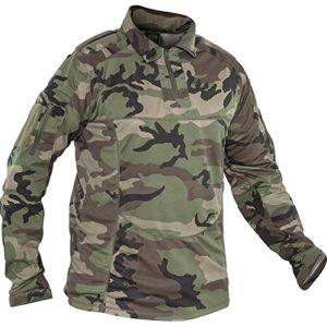 Valken – Tactical Tango Combat Maillot – Camouflage (Woodland) – M
